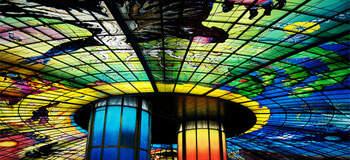 高雄》美麗島站,光之穹頂,世界最美的捷運站